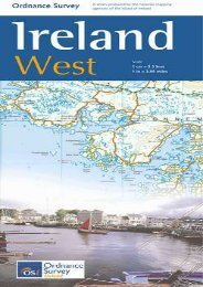 Ireland West Map 1:250 000 OS (Irish Maps, Atlases and Guides)