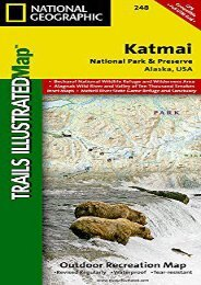 Katmai National Park and Preserve (National Geographic Trails Illustrated Map)