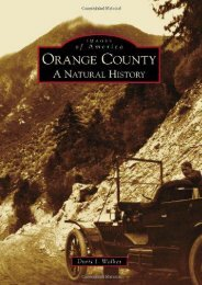 Orange County:: A Natural History (Images of America)