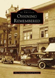 Ossining Remembered  (NY)  (Images of America)