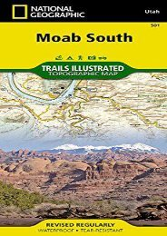 Moab South (National Geographic Trails Illustrated Map)