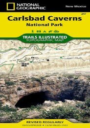 Carlsbad Caverns National Park (National Geographic Trails Illustrated Map)