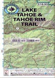 Lake Tahoe   Tahoe Rim Trails (Tom Harrison Maps)
