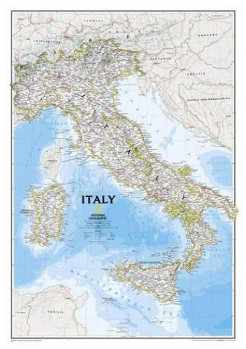 Italy Classic [Tubed] (National Geographic Reference Map)