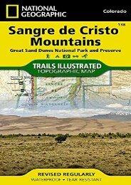 Sangre de Cristo Mountains Great Sand Dunes National Park   Preserve Colorado