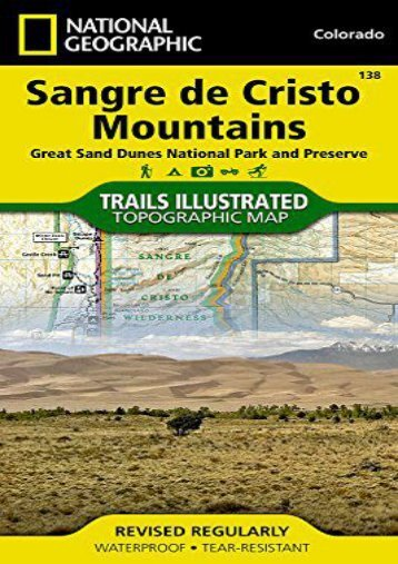 Sangre de Cristo Mountains Great Sand Dunes National Park   Preserve Colorado