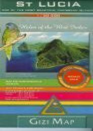 Saint-Lucia Road Map Gizi 1: 50 000 (English and French Edition) Gizi