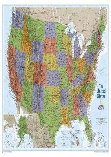 United States Explorer [Tubed] (National Geographic Reference Map)