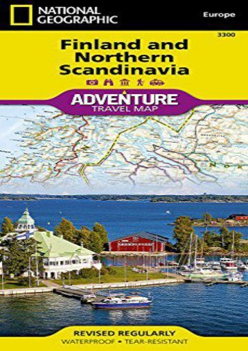 Finland and Northern Scandinavia (National Geographic Adventure Map)