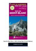 Pays Du Mont-Blanc 1:50K (Hiking Map) (French Edition) - Page 2