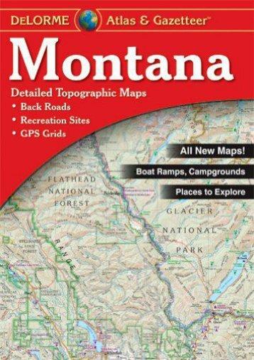 Montana Atlas   Gazetteer