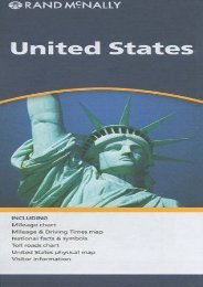 Rand McNally United States Map