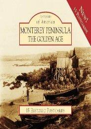 Monterey Peninsula:: The Golden Age (Postcard of America) (Postcards of America)
