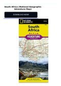 South Africa (National Geographic Adventure Map) - Page 2