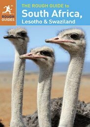 The Rough Guide to South Africa, Lesotho   Swaziland
