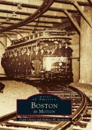 Boston in Motion (Images of America: Massachusetts)