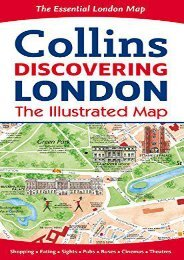 Collins Discovering London: The Illustrated Map