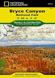 Bryce Canyon National Park (National Geographic Trails Illustrated Map)