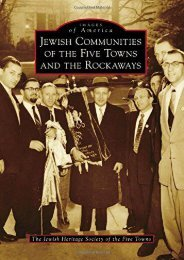 Jewish Communities of the Five Towns and the Rockaways (Images of America)
