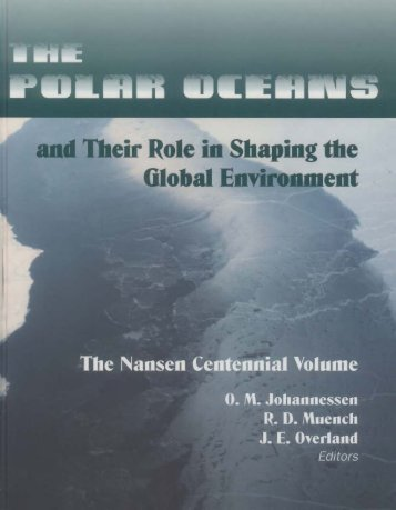 Geophysical Monograph 85 The Polar Oceans and Their Role in ...