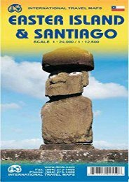 1.Easter Island   Santiago Travel Reference Map