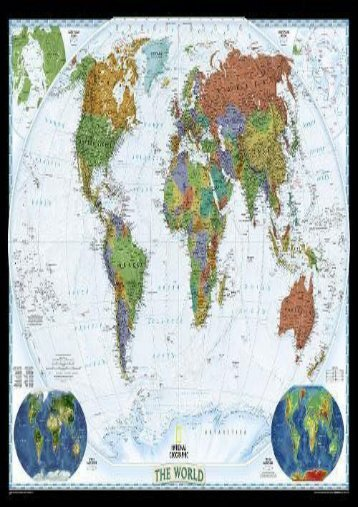 National geographic student atlas of the world world decorator enlarged and laminated national geographic reference map publicscrutiny Images