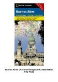 Buenos Aires (National Geographic Destination City Map) - Page 5
