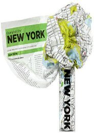 Crumpled City Map-New York