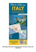 Rick Steves  Italy Map: Including Rome, Florence, Venice and Siena City - Page 2