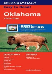 Rand McNally Folded Map: Oklahoma (Rand McNally State Maps)