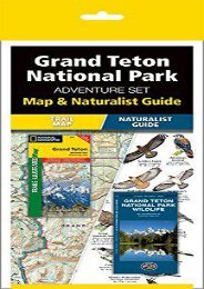 Grand Teton National Park Adventure Set: Map   Naturalist Guide