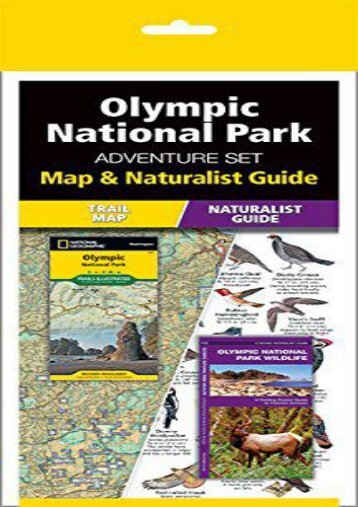 Olympic National Park Adventure Set: Map   Naturalist Guide