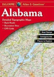 Alabama Atlas   Gazetteer