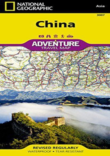 China (National Geographic Adventure Map)