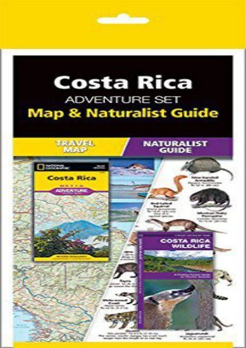 Costa Rica Adventure Set: Map   Naturalist Guide