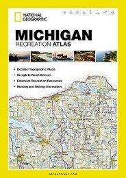 Michigan Recreation Atlas (National Geographic Recreation Atlas)