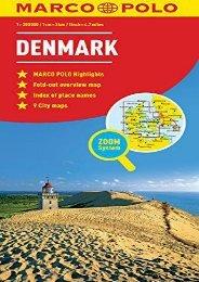 Denmark Marco Polo Map (Marco Polo Maps)