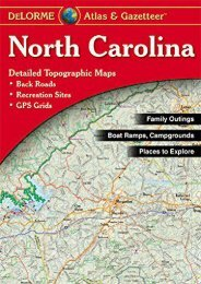 North Carolina Atlas   Gazetteer (North Carolina Atlas and Gazetteer)
