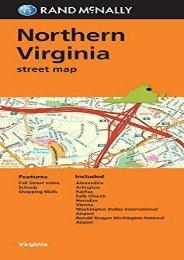 Folded Map: Northern Virginia (Rand Mcnally Street Map)