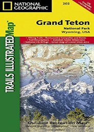Grand Teton National Park (National Geographic Trails Illustrated Map)