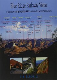 Blue Ridge Parkway Vistas: A Comprehensive Identification Guide to What You See from the Many Overlooks