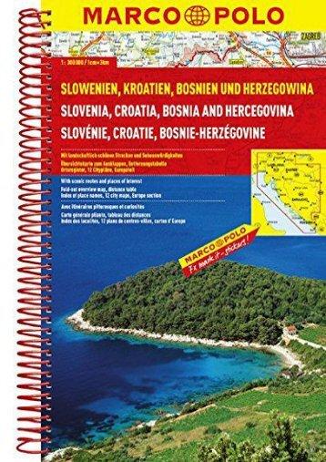 Slovenia/Croatia/Bosnia Marco Polo Road Atlas