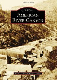 American River Canyon (Images of America)