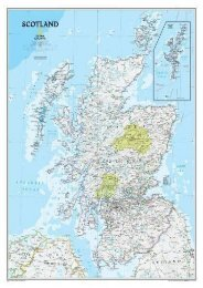 Scotland Classic [Laminated] (National Geographic Reference Map)