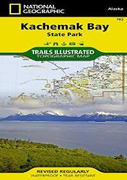 Kachemak Bay State Park (National Geographic Trails Illustrated Map)