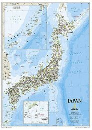 Japan Classic [Laminated] (National Geographic Reference Map)