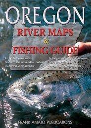 Oregon River Maps   Fishing Guide