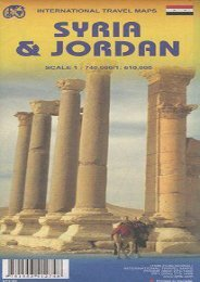 Jordan 1:610,000   Syria 1:740,000 Travel map (International Travel Maps)