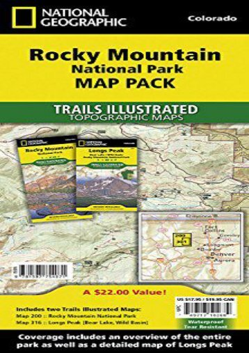 Rocky Mountain National Park [Map Pack Bundle] (National Geographic Trails Illustrated Map)