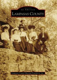 Lampasas County, TX (IMG) (Images of America)